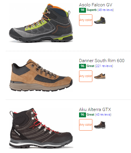 Best suede hiking boots