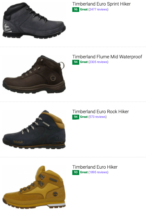 Best Timberland leather hiking boots