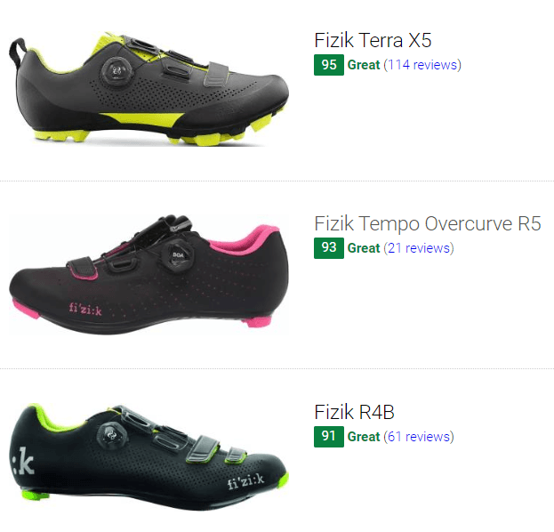 best Fizik cycling shoes