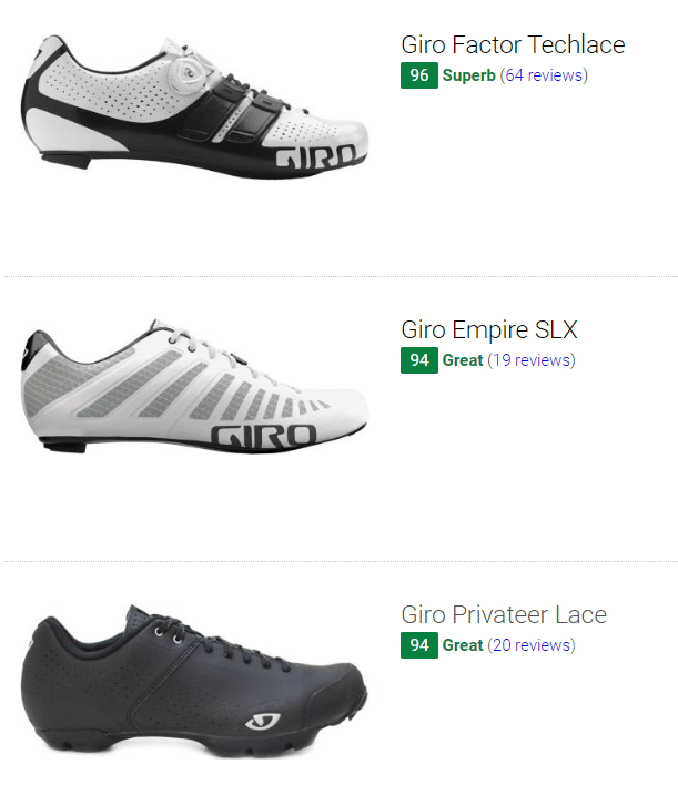 Best Giro cycling shoes