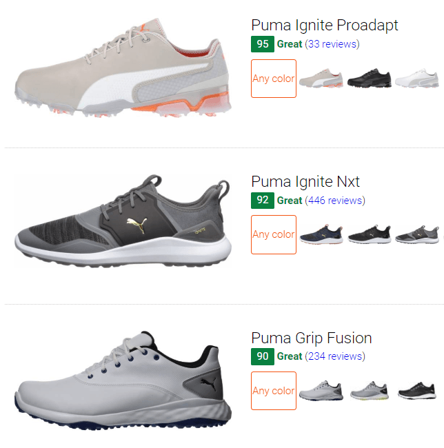 best puma golf shoes