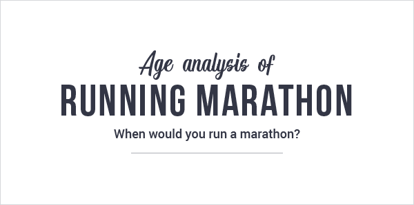 Why You Are 12% More Likely to Run a Marathon At a Milestone Age?