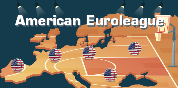 """American"" EuroLeague: 119% more USA players after 20 seasons"