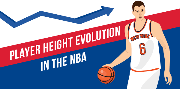 67 years of Height evolution in the NBA - in depth research