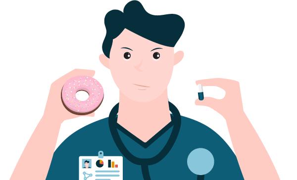dougnut or pills