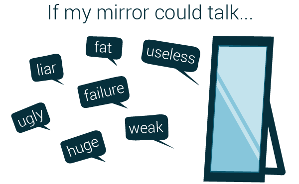 if the mirror could talk