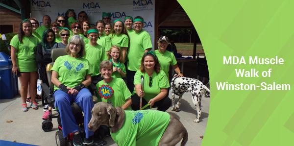 MDA Muscle Walk of Winston-Salem
