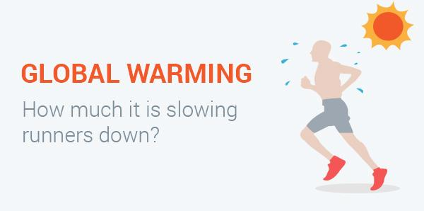 How Much is Climate Change Slowing Down Runners