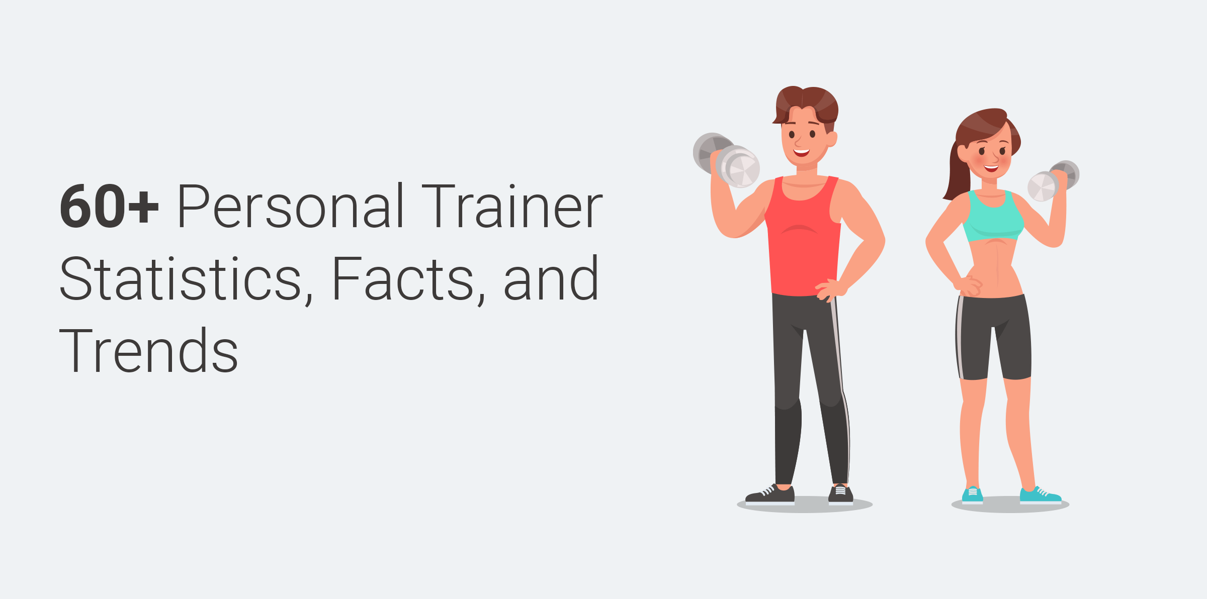 60+ Personal Trainer Statistics, Facts, and Trends