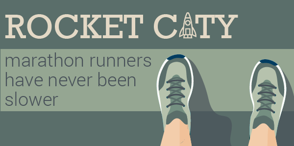 Rocket City Marathon Runners Have Never Been Slower