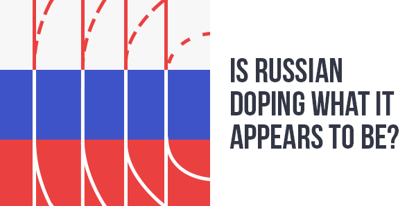 Doping in Russia intrographic