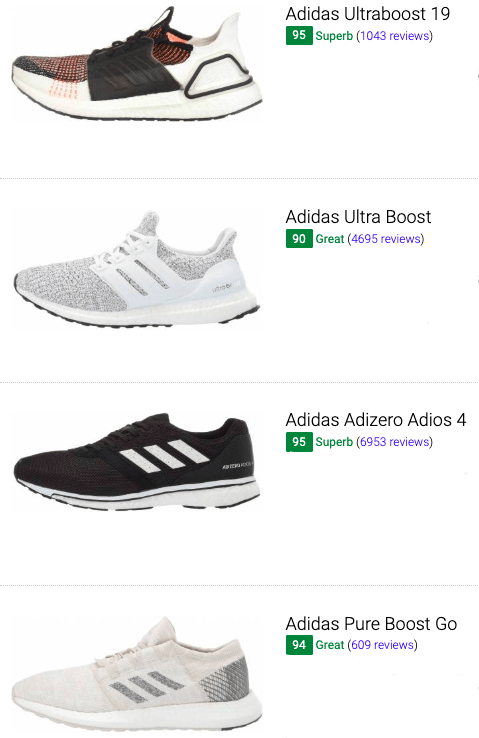 best adidas neutral running shoes