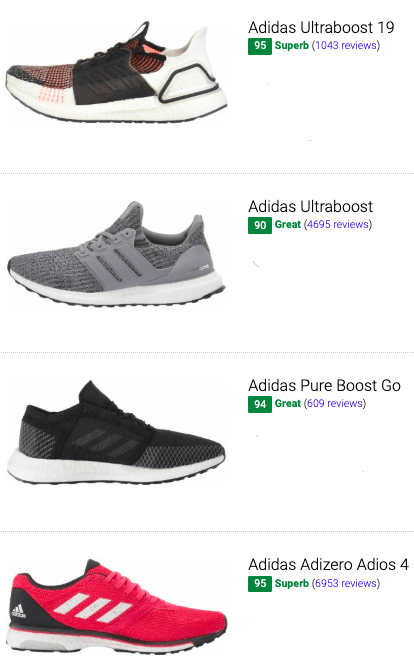 30+ Best Adidas Running Shoes (Buyer's Guide) | RunRepeat
