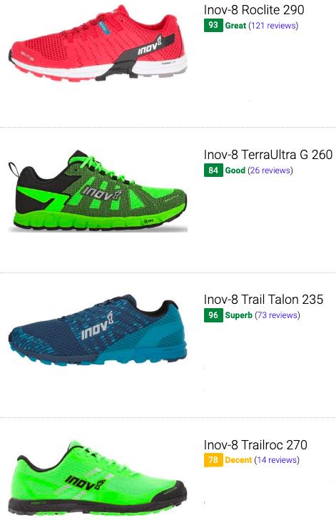 best inov 8 low drop running shoes