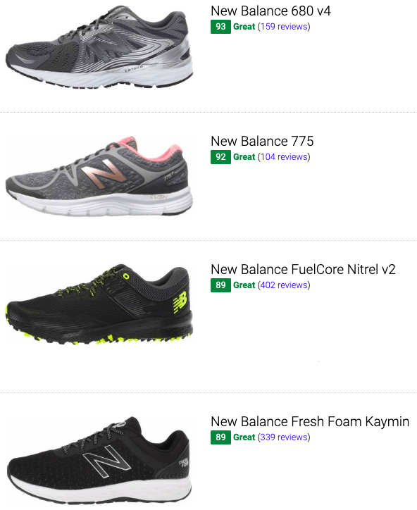 best new balance cheap running shoes