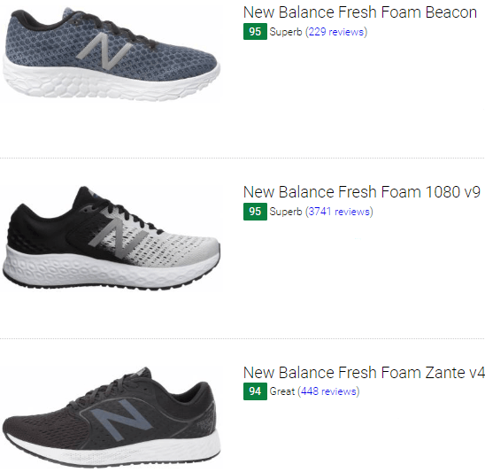 148 Best New Balance Neutral Running Shoes (January 2020