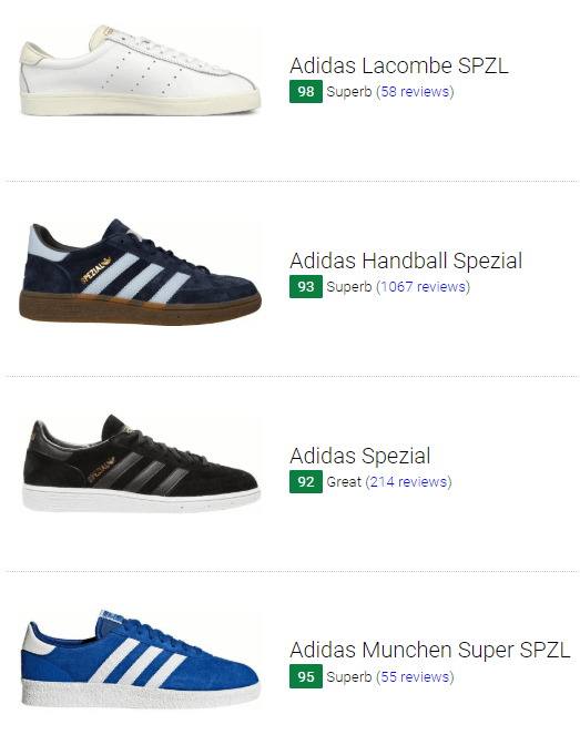 best service 56af4 9d1b4 Adidas Spezial sneakers
