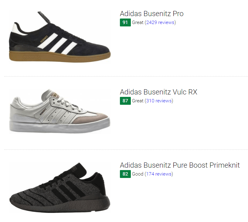 8 Best Adidas Busenitz Sneakers (Buyer's Guide) | RunRepeat