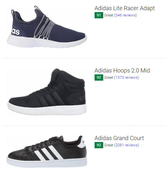 47 Best Adidas Cheap Sneakers (September 2019) | RunRepeat