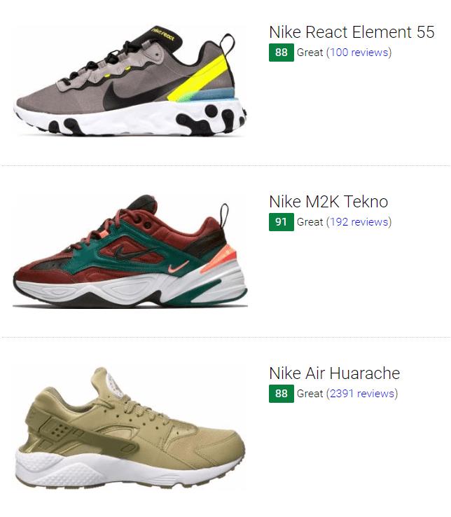 Brown Nike Sneakers