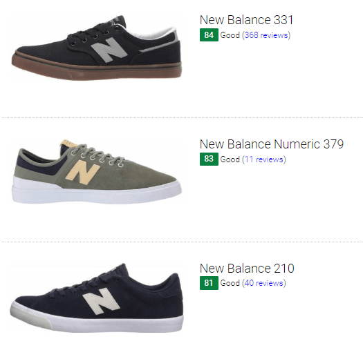 New Balance skate sneakers