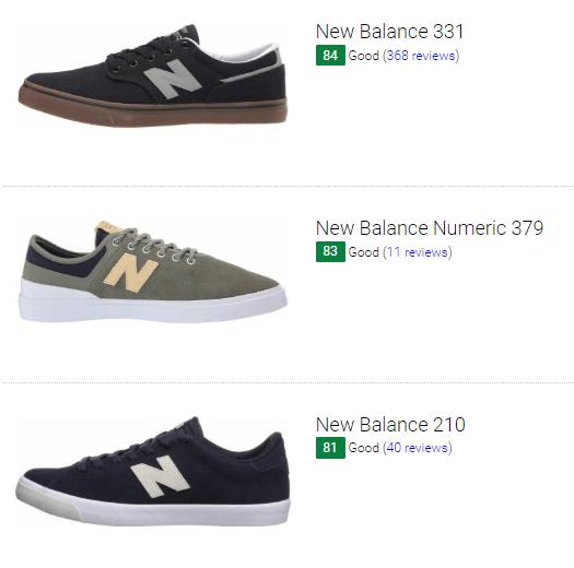 New Balance skate sneakers