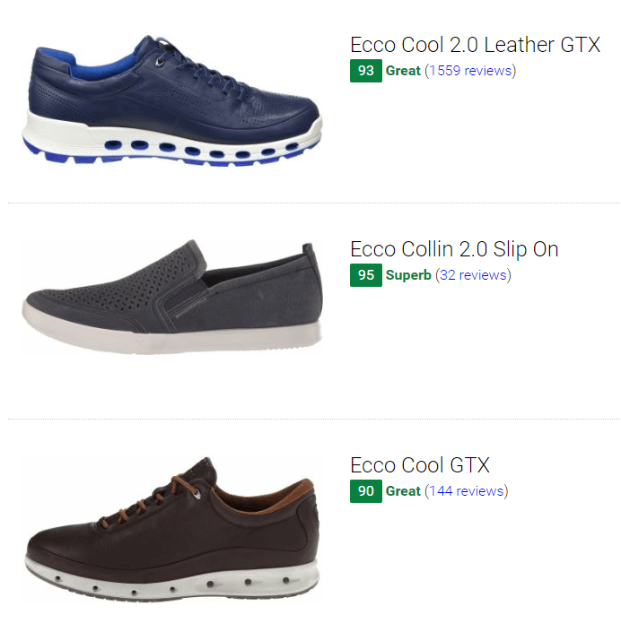 Best Ecco Casual Shoes Sneakers