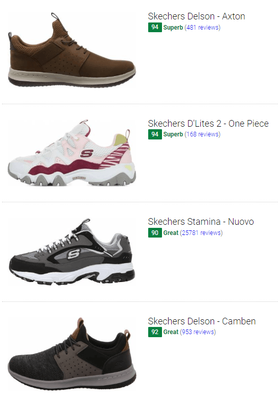 Save 51% On Skechers Casual Sneakers (42 Models In Stock