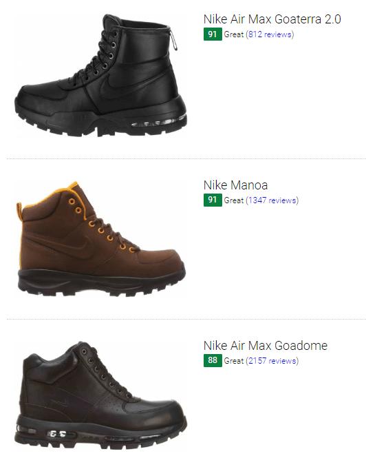 Save 42% on Nike Hiking Sneakers (25