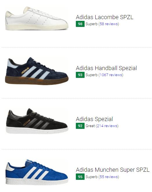 best adidas spezial sneaker