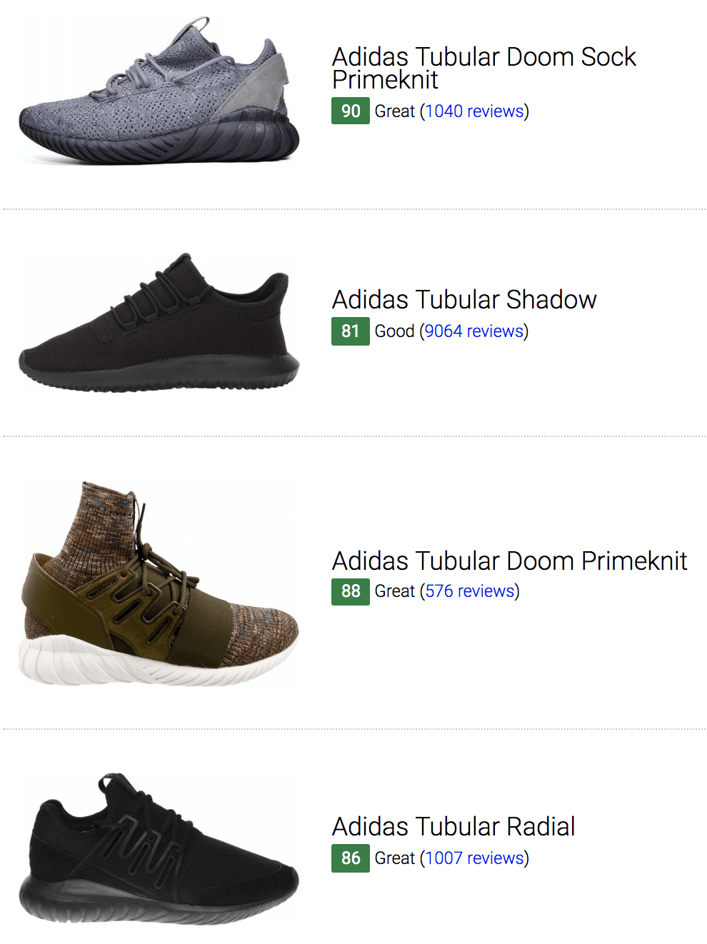 online retailer c989d deba0 26 Best Adidas Tubular Sneakers (September 2019) | RunRepeat