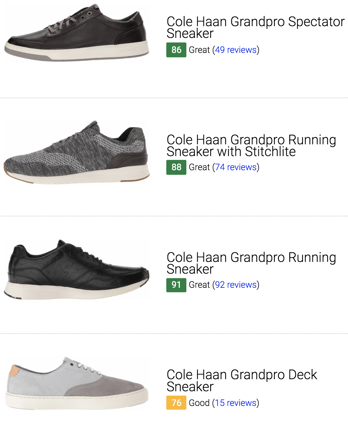 Best Cole Haan Sneakers