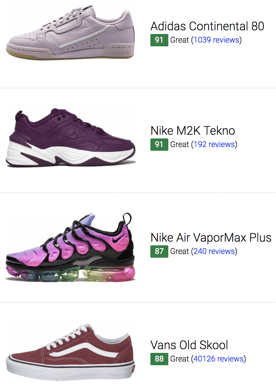 Best Purple Sneakers