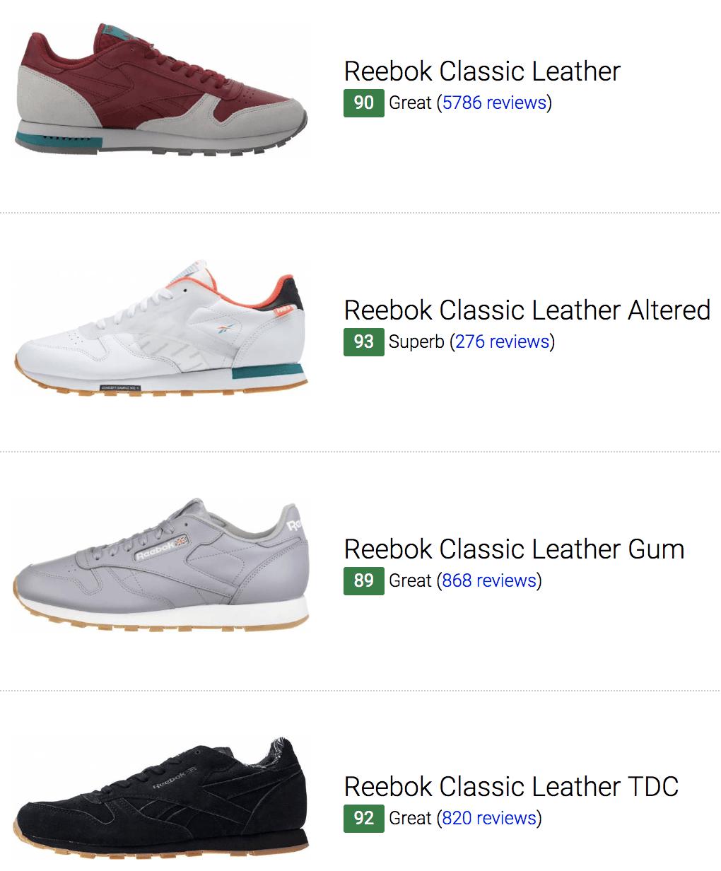 Best Reebok Classic Leather Sneakers