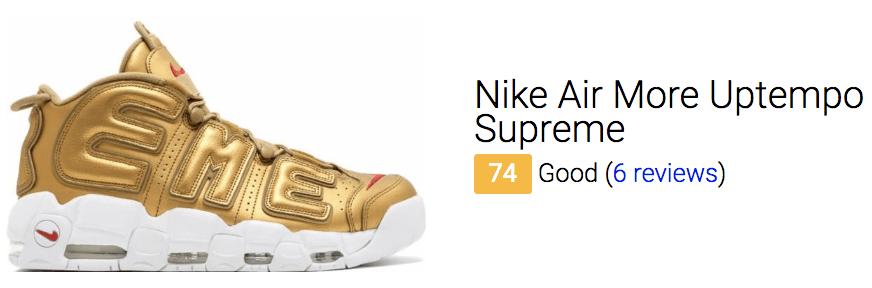 best supreme sneakers