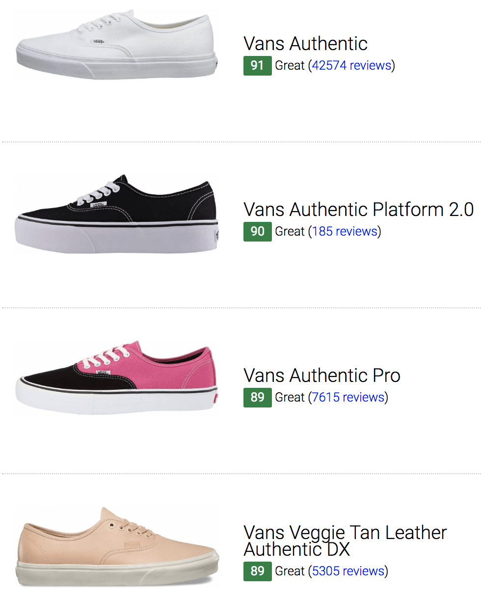 best vans authentic sneakers