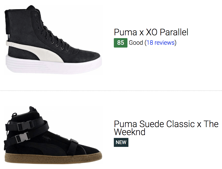 Save 40% on The Weeknd Sneakers (3