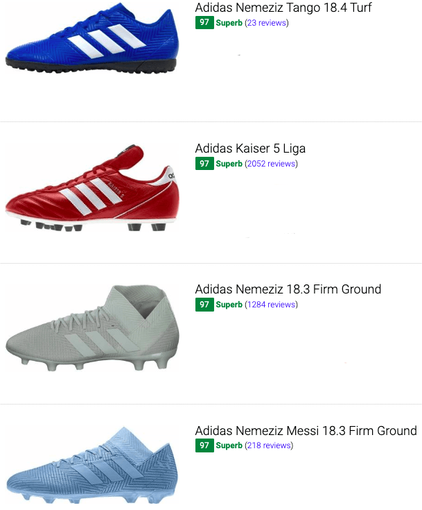 best adidas low top soccer cleats