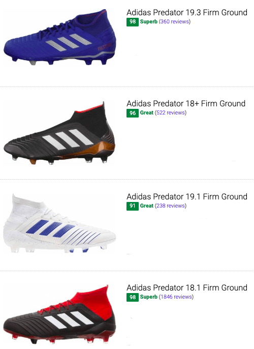 best adidas predator soccer cleats