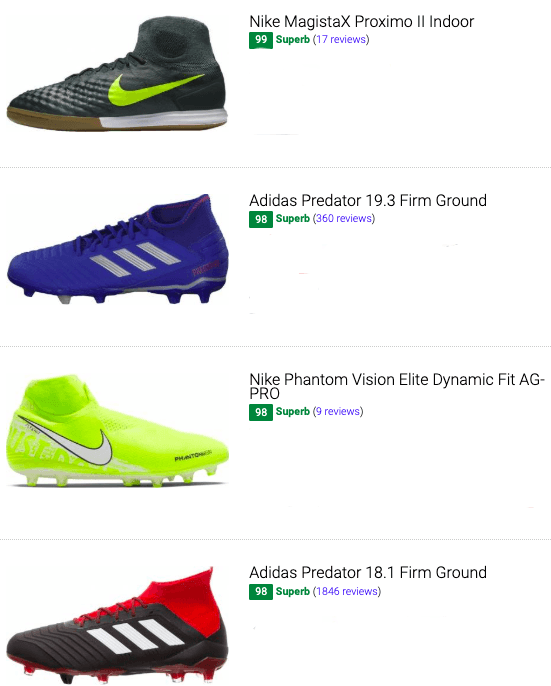 30+ Best High Top Soccer Cleats (Buyer's Guide) | RunRepeat