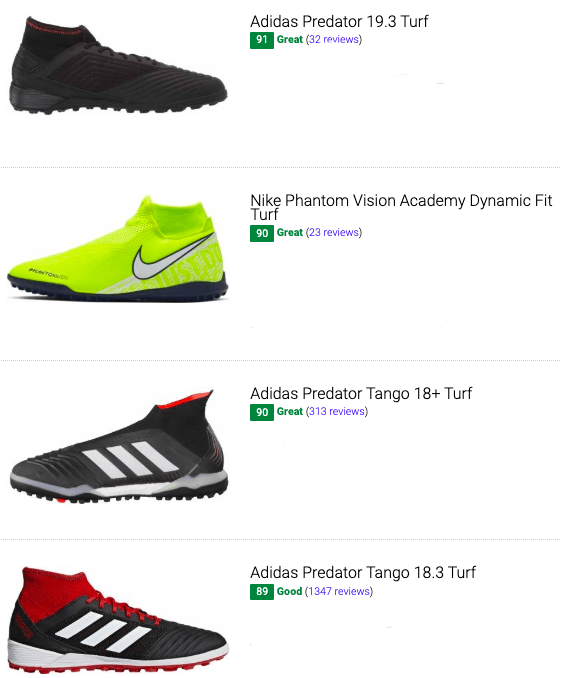 best high top turf soccer cleats