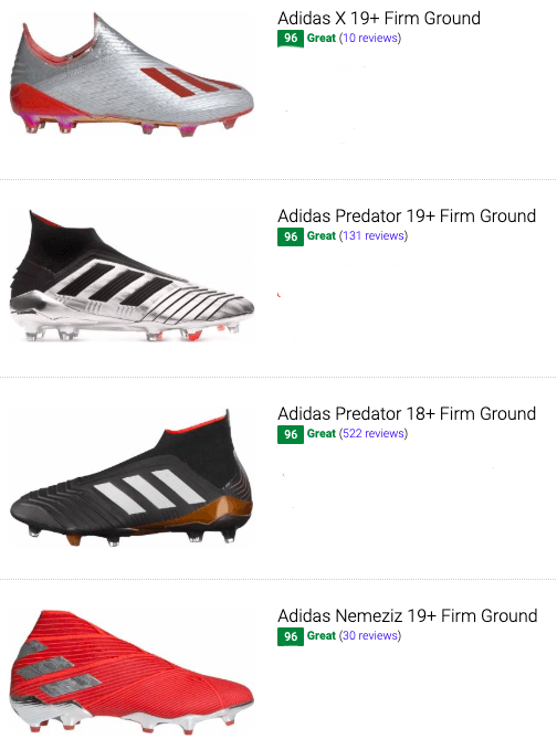 best laceless adidas soccer cleats
