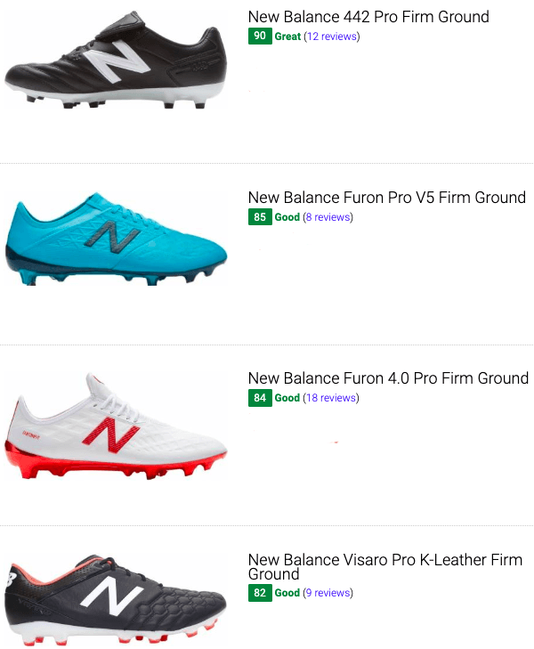 best new balance firm gorund soccer cleats