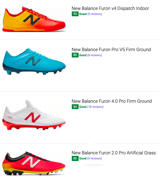 best new balance furon soccer cleats