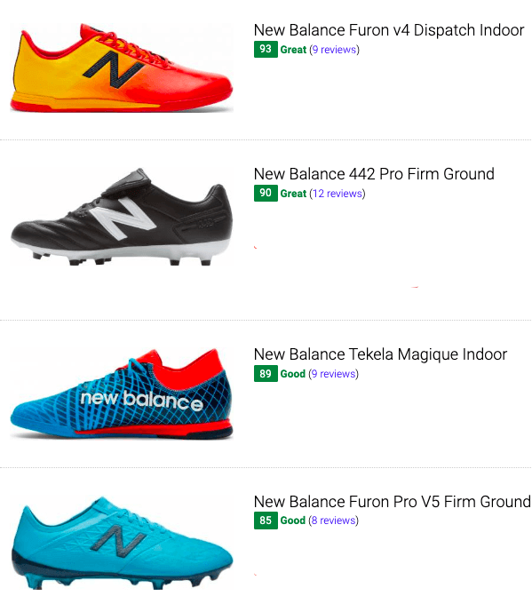 best new balance low top soccer cleats