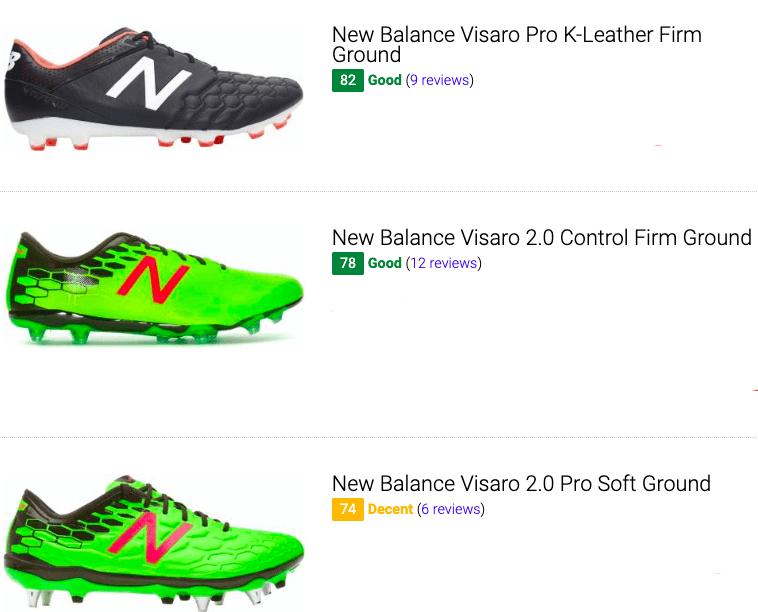best new balance visaro soccer cleats
