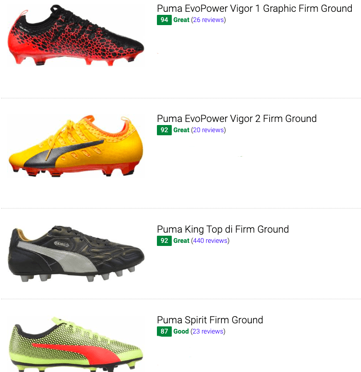 puma firm ground soccer cleats