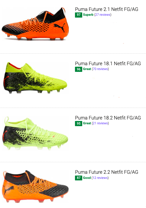 best puma future soccer cleats