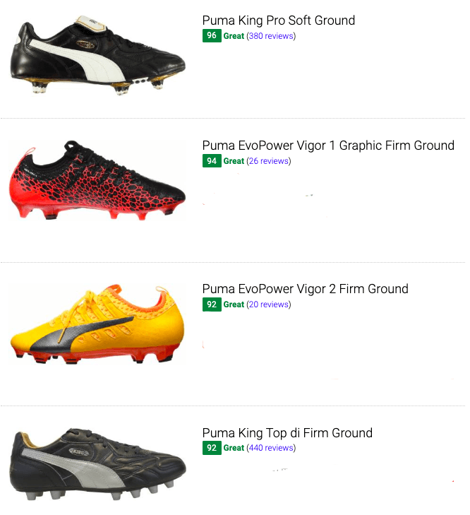 puma low top soccer cleats