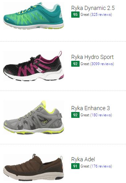 best ryka training shoes